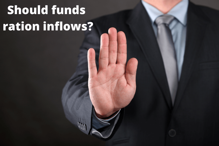 ration inflows